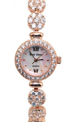 Ảnh số 11: Royal Crown S5266 Womens Ladies Silver 925 Rose Gold - Giá: 2.130.000