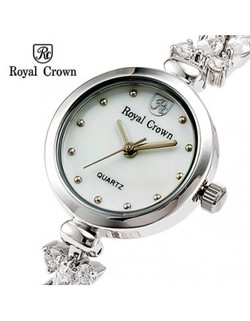 Ảnh số 23: Royal crown watches bracelet watch luxury diamond ladies watch platinum 2505 - Giá: 2.142.000