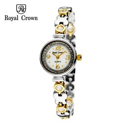 Ảnh số 51: Royal crown watches bracelet watch fashion gold steel ladies watch 6401 - Giá: 156.000