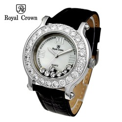 Ảnh số 60: Royal crown watches large dial strap bling diamond ladies watch 3580M Free shipping - Giá: 1.853.000