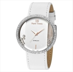 Ảnh số 71: Royal crown womens fashion watch large dial trend strap watch 6110 - Giá: 1.955.000