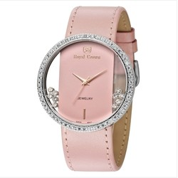 Ảnh số 73: Royal crown womens fashion watch large dial trend strap watch 6110 - Giá: 1.955.000