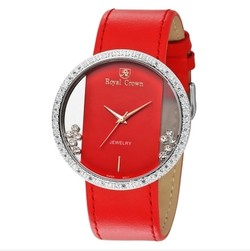 Ảnh số 74: Royal crown womens fashion watch large dial trend strap watch 6110 - Giá: 1.955.000