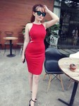 Đầm cut out body so hot TK