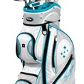 Gậy đánh Golf nữ Tour Edge Women s 2014 Lady Edge Golf Full Set, Ladies Flex, Right Hand, Graphite, Teal, 1 Inch