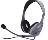 Jabra UC Voice 150 Duo USB Headset w/Noise-Canceling Boom Microphone & In-Line Controls (Gray).