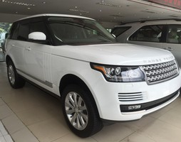 Range Rover HSE superchaged 2015 trắng, full option.
