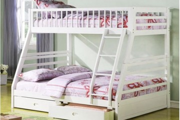 giường tầng ACME 07 white