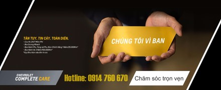 showroom Chevrolet Thăng Long