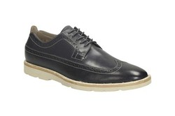 Ảnh số 31: Giày Clarks Gambeson Limit Dark Blue Lea Mens Formal Shoes - Giá: 1.950.000